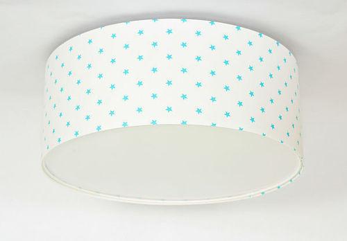 Luminance E27 60W LED alb / albastru plafon plafon pentru copii