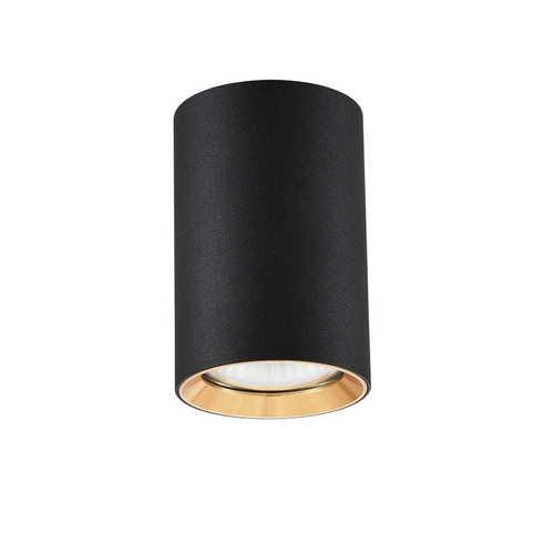 Inel negru Manacor cu un inel de aur de 9 cm