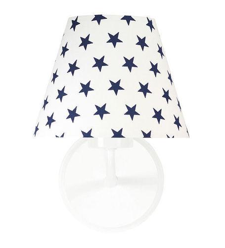 Lampa de perete cu stele albastre bleumarin Raggio E27 60W pentru camera unui copil
