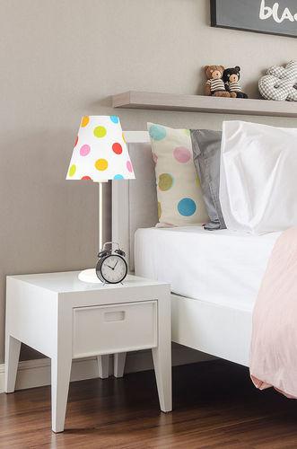 Lampă pentru copii Ombrello 60W E27 50cm puncte colorate, pe birou