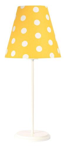 Lampă de birou pentru un copil Ombrello 60W E27 50cm puncte aurii / albe