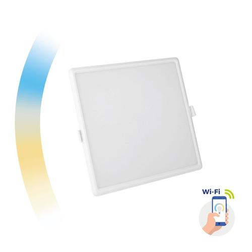 Algine 22w Cct + Dim Wi-Fi Spectrum Smart Square