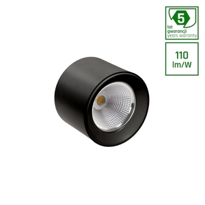 Cel Zosma 3 Round 830 19w 230v 40st Black Dali small 0
