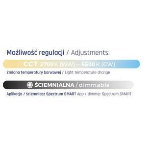 Moderna 36w Wifi Cct Dimm Spectrum Smart small 1