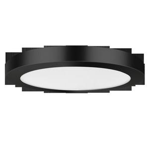 Lampă de tavan York 2 în 1 4000K negru small 1