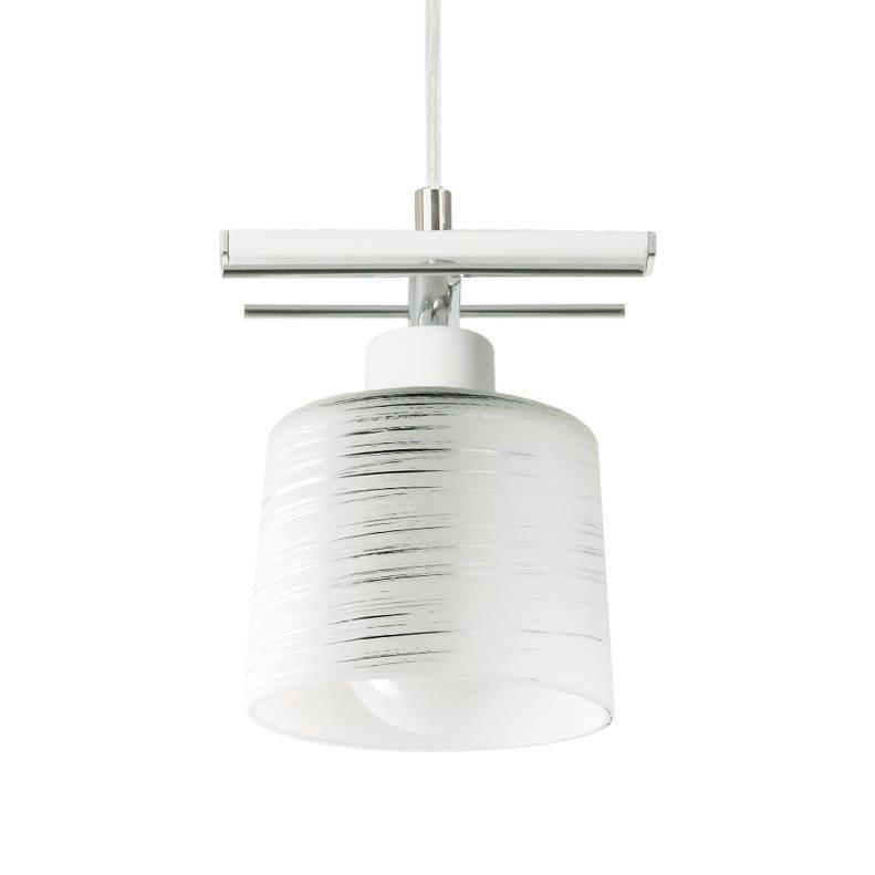 Lampă suspendată clasică Olimp 1 Alb