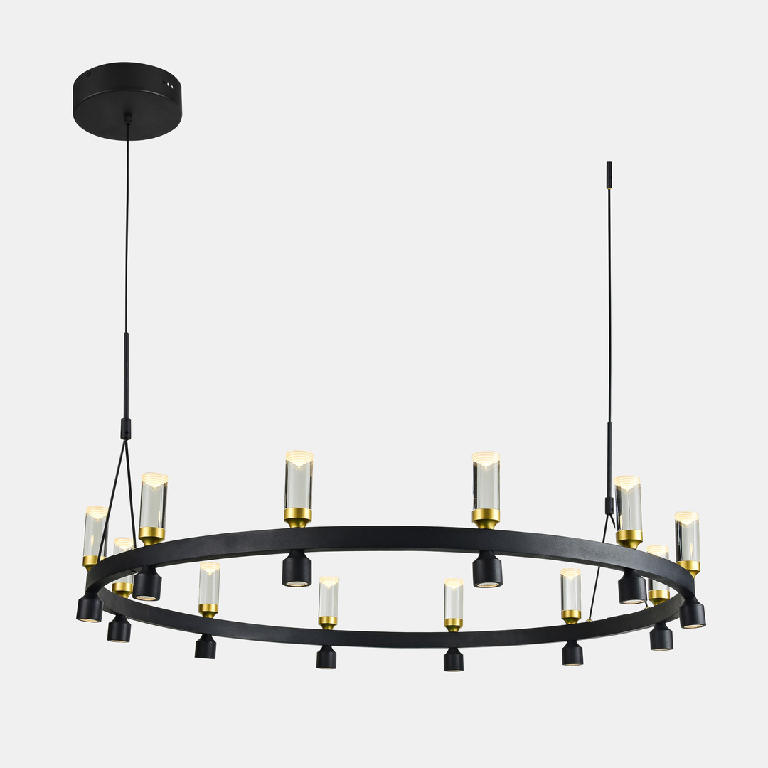 Lampă cu pandantiv LED Almelo negru