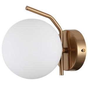 Lampă de perete modernă din alamă Carimi G9 small 0
