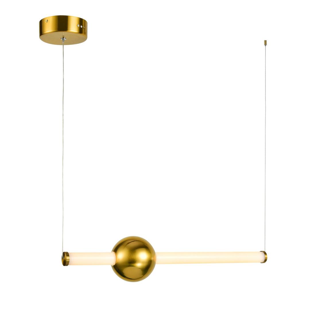 Lampă suspendată cu LED din cupru