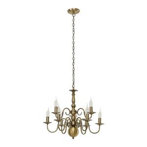 Lampă suspendată stilizată Marion E14 9-bec small 2