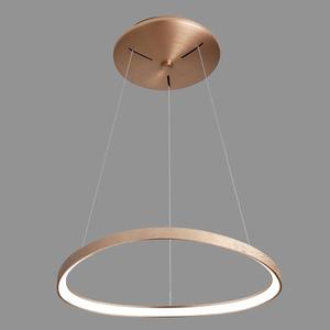Lampă cu pandantiv LED Morfi maro small 1