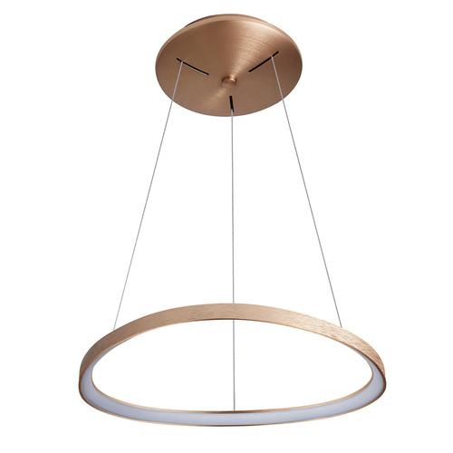 Lampă cu pandantiv LED Morfi maro