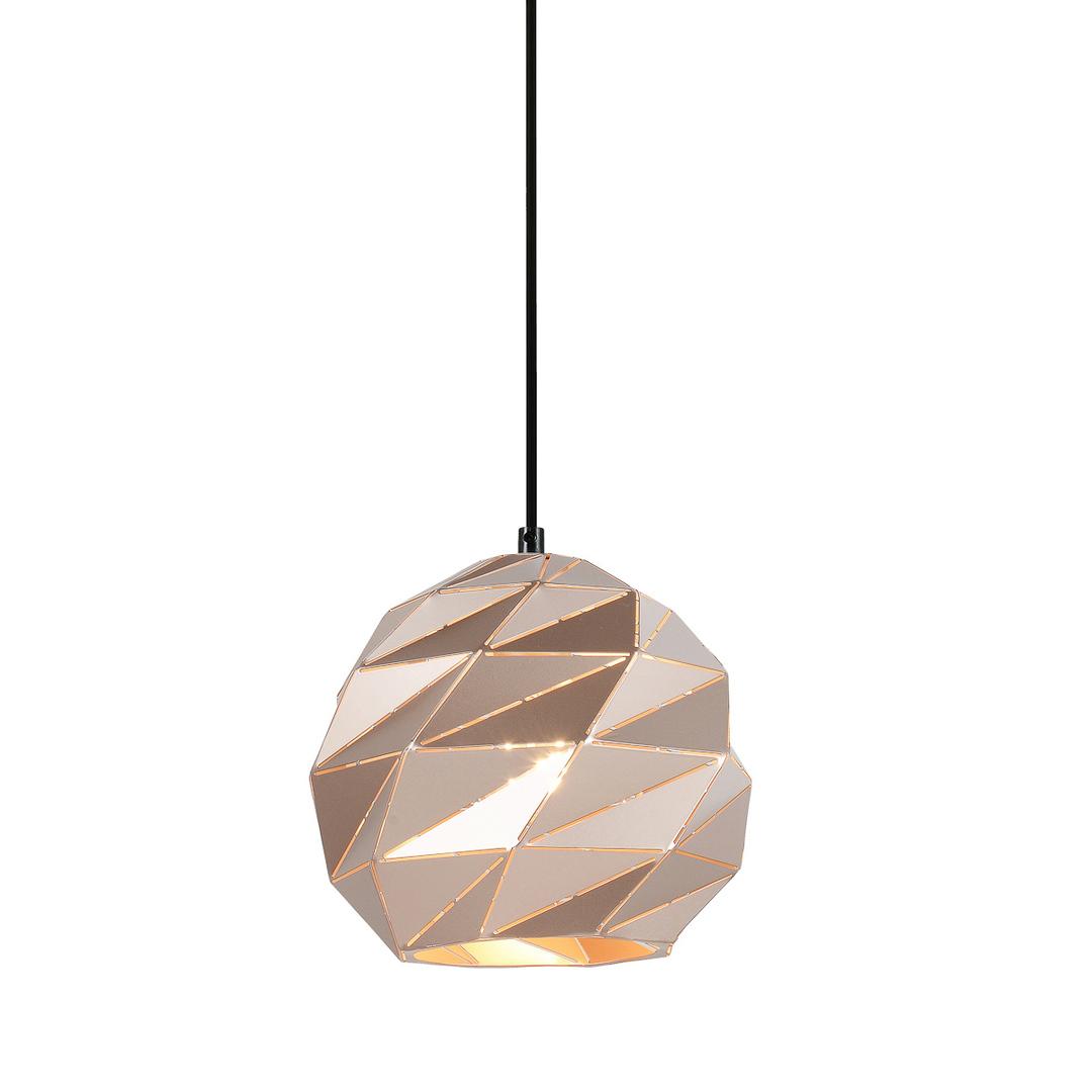 Lampă suspendată de aur E27 Palermo