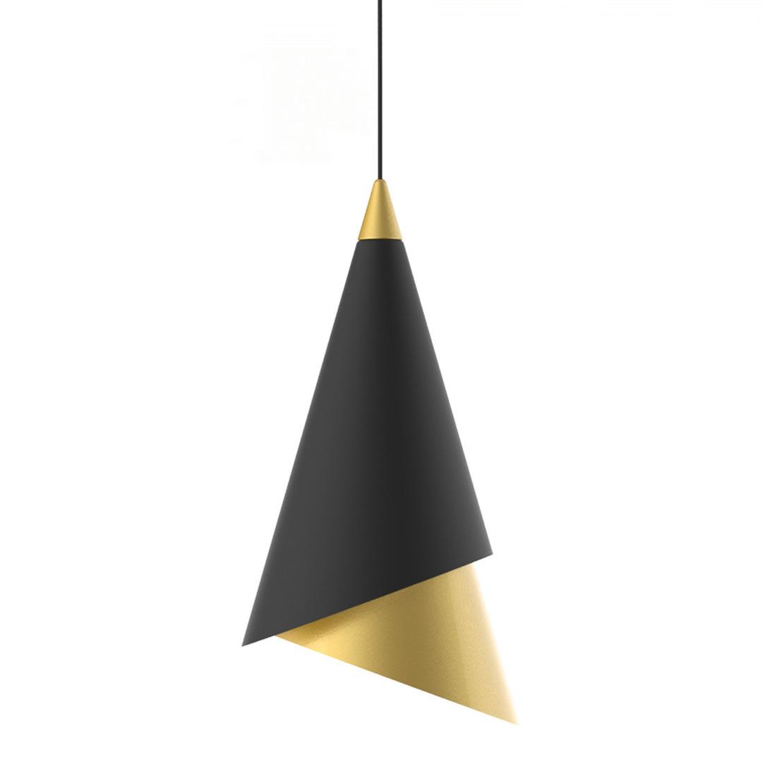 Lampă cu pandantiv LED Raalto negru
