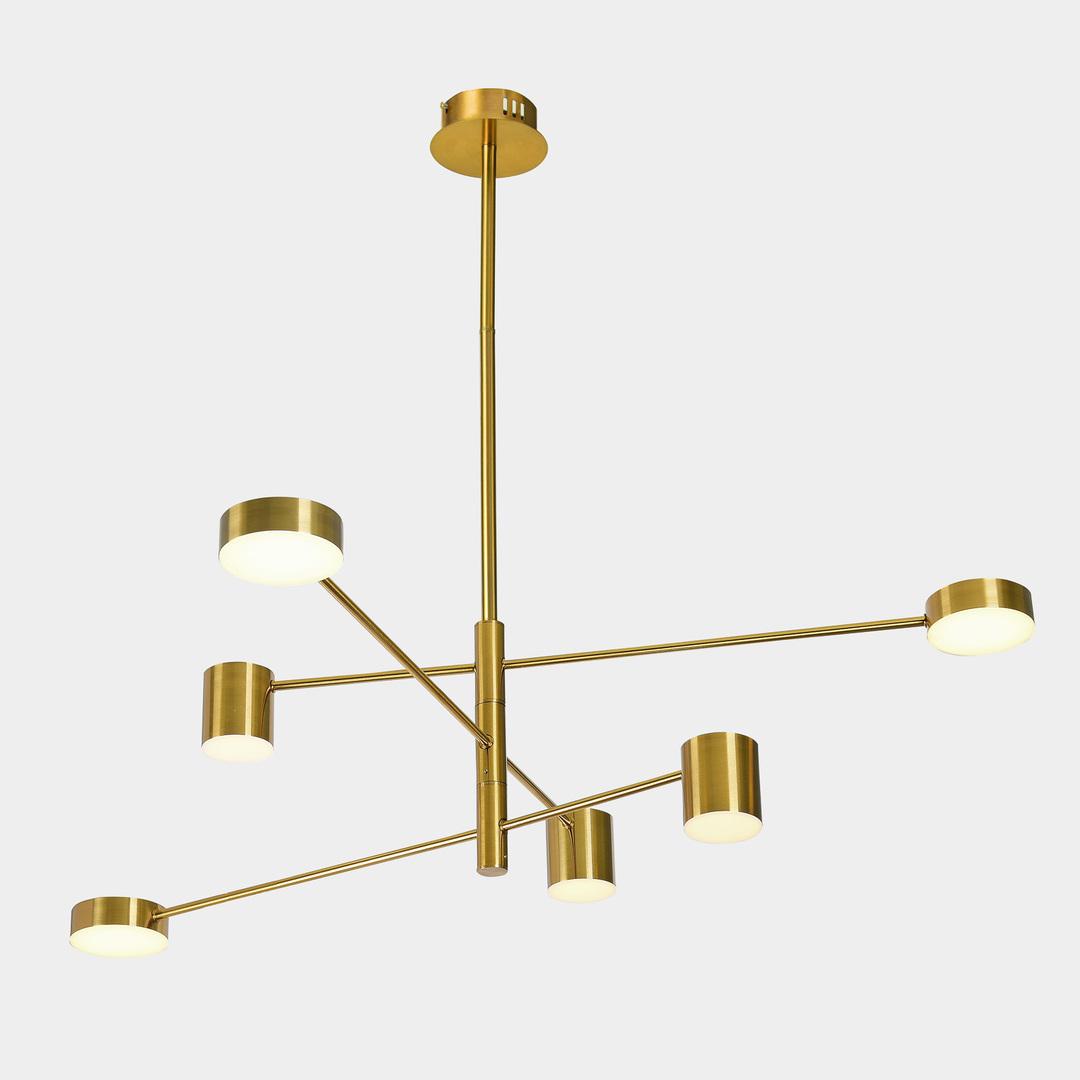 Lampă suspendată din cupru Remdal LED