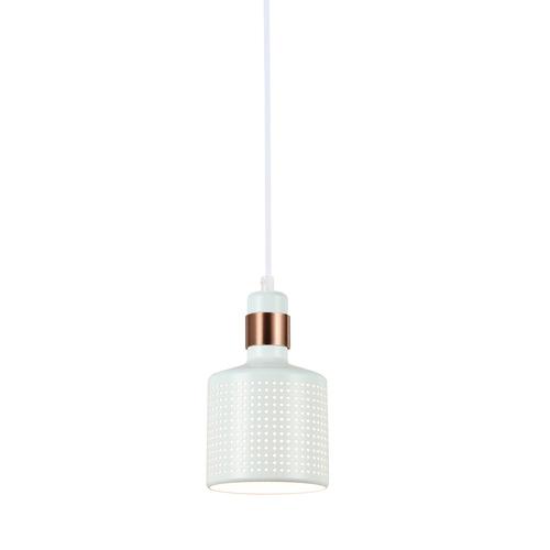 Lampă albă suspendată Restenza E27