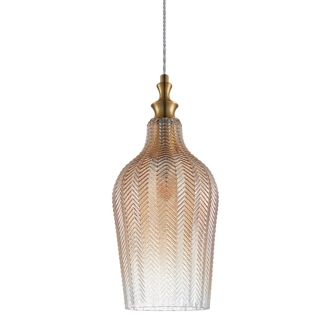 Sabie de lampă suspendată din alamă E27
