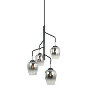 Lampă modernă suspendată Lesla E27 cu 4 becuri small 0