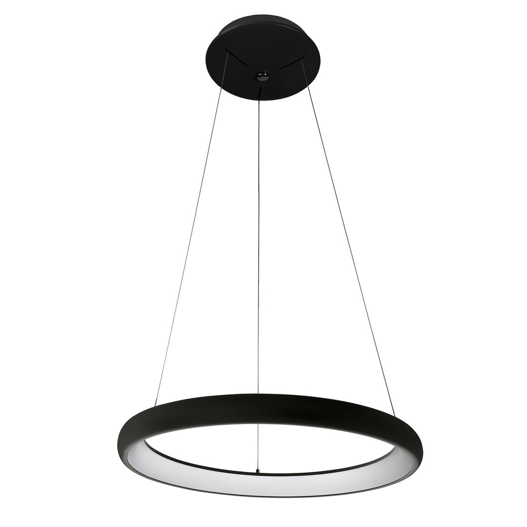Lampă suspendată cu LED Alessia neagră