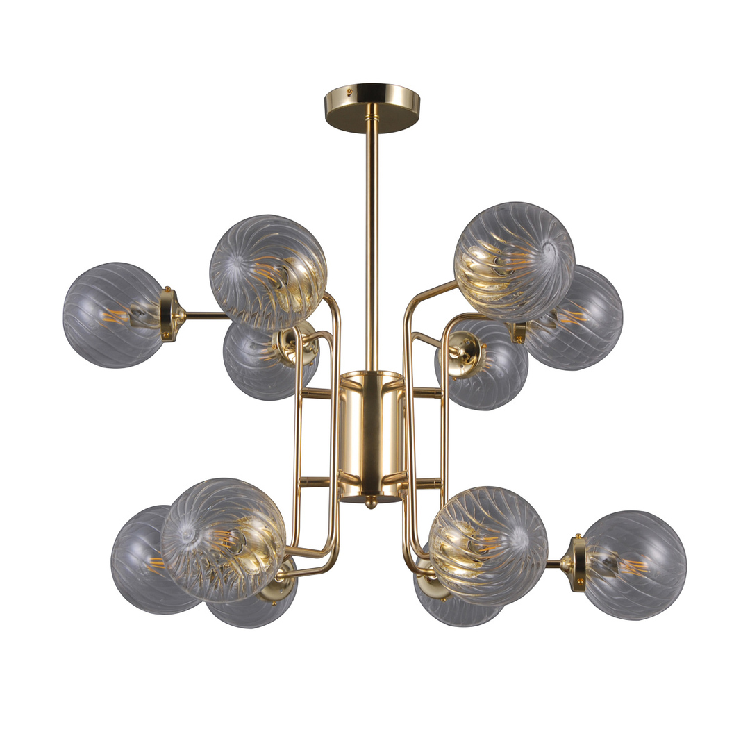 Lampă modernă suspendată Bartolo E14 12-bec