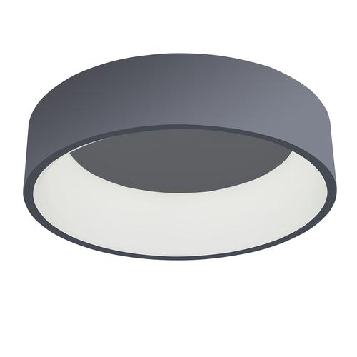 Lampă de plafon modernă LED Chiara Gri