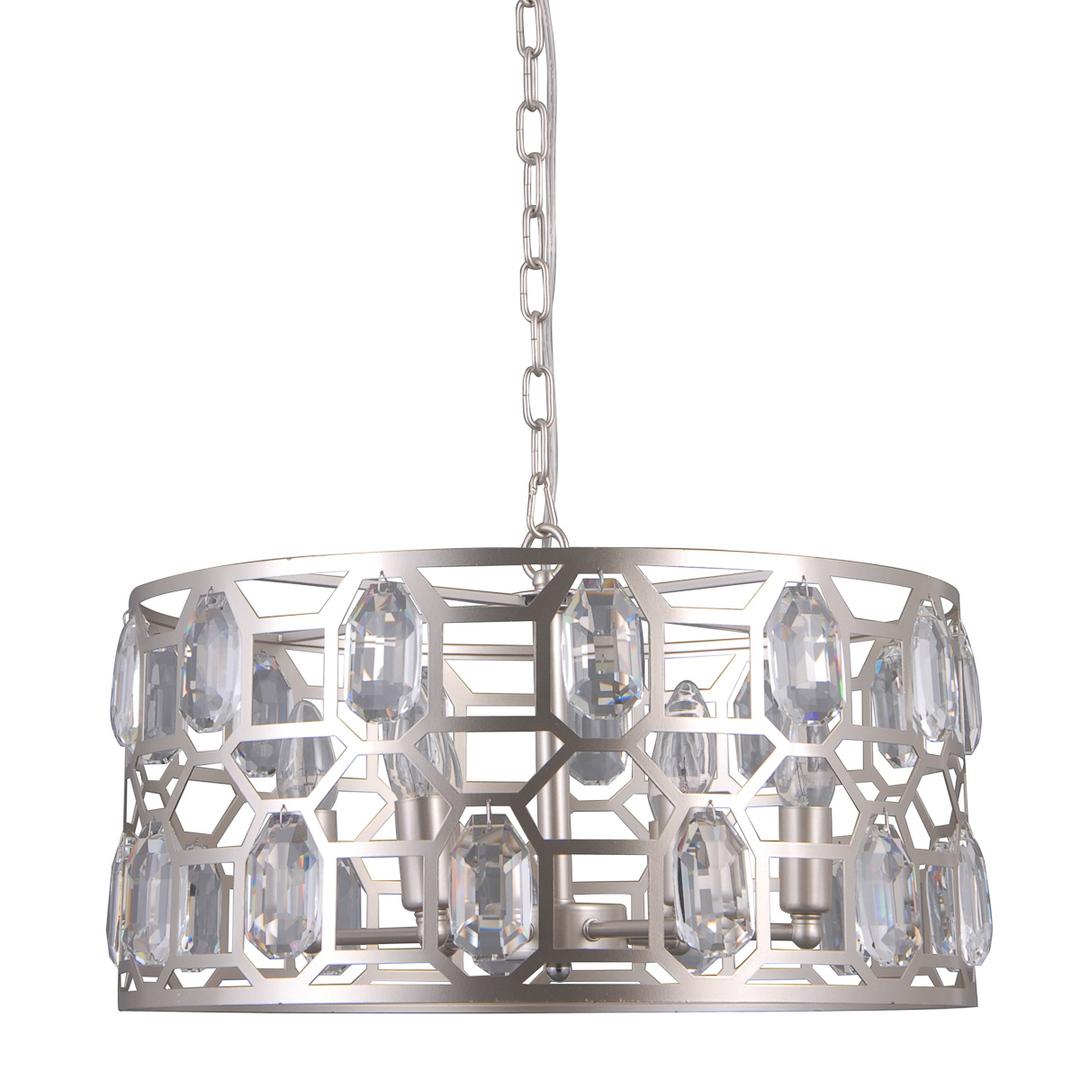 Lampă modernă suspendată Momento E14 cu 6 becuri