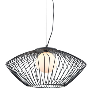 Lampă cu pandantiv negru Zeno E27 small 0