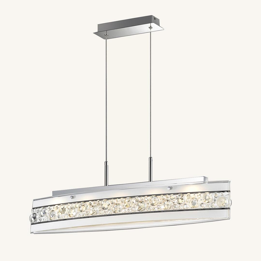 Lampă cu LED-uri Franco albă