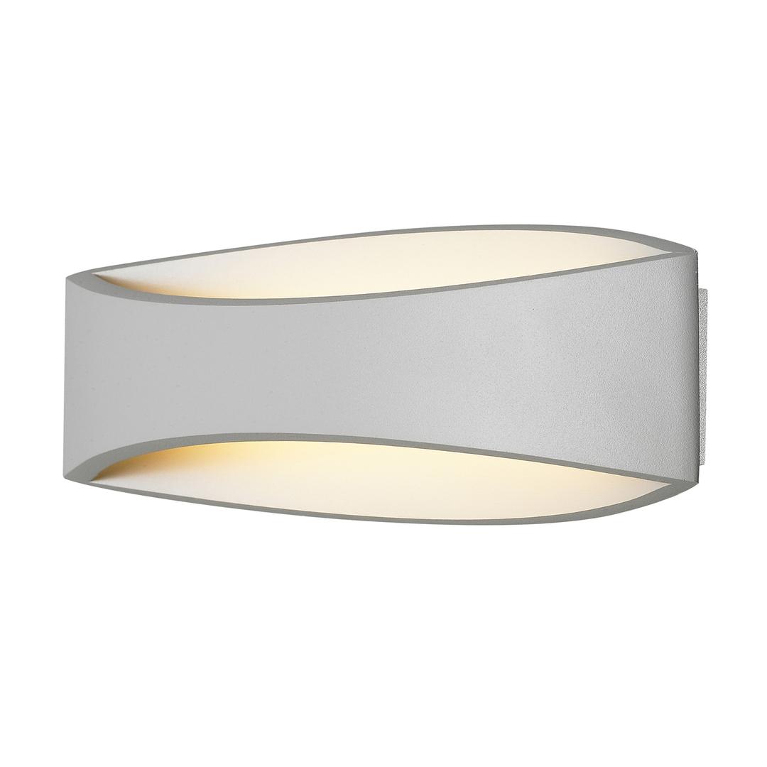 Aplica de perete modernă albă Kaia LED