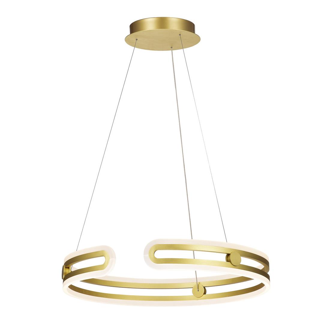 Lampă cu pandantiv cu aur LED Kiara