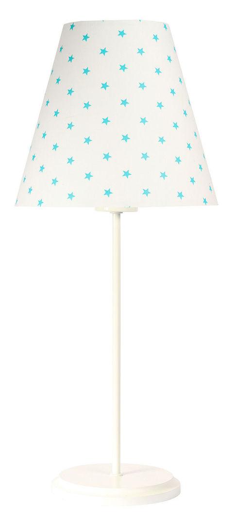 Lampă de masă cu abajur Ombrello 60W E27 50cm stele albe
