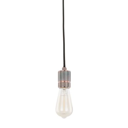 Lampă suspendată roșie Casa E27