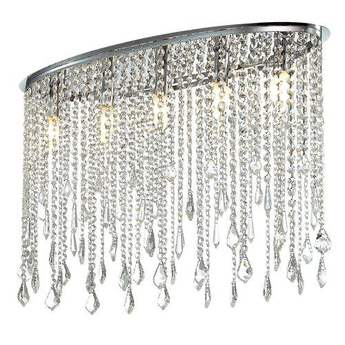 Lampă de tavan clasică Kaas E14 cu 5 puncte Cristale
