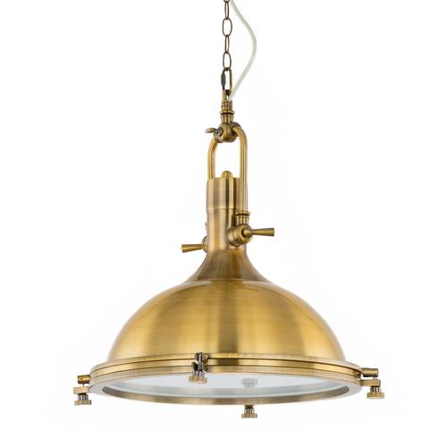 Lampă suspendată Madison E27 din bronz