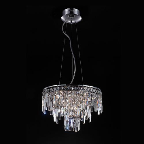 Lampă suspendată clasică cu cristale Lavenda G4 cu 10 becuri