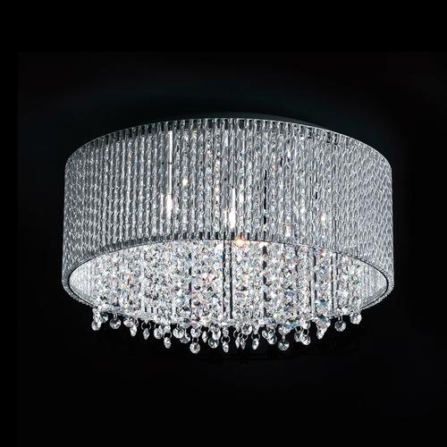 Lampă de plafon modernă cu 7 puncte Anabella G9 Silver
