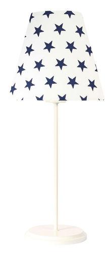 Lampă de birou LED Ombrello 60W E27 50cm bleumarin stele
