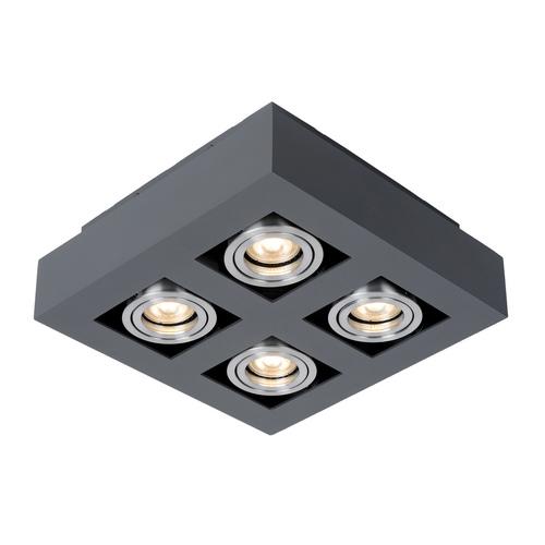 Lampă de suprafață modernă Casemiro GU10 cu 4 becuri