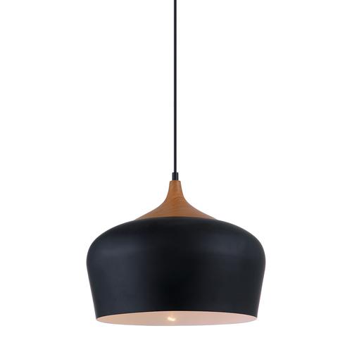 Lampă suspendată neagră Britta E27
