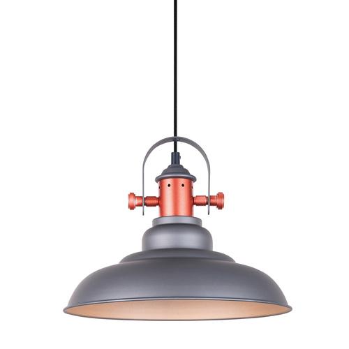 Lampă suspendată gri Temper E27