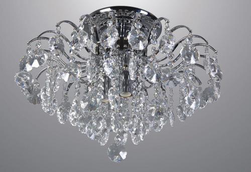 Plafond clasic cu cristale Firenza în 4 puncte