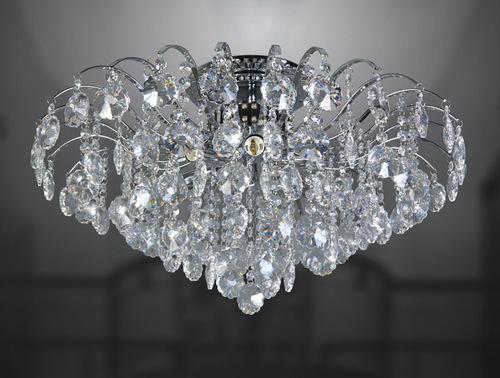 Plafond clasic cu cristale Firenza în 6 puncte