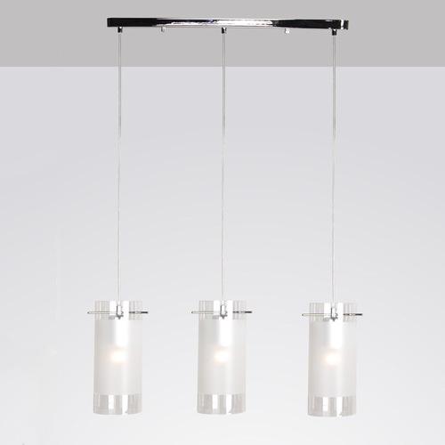 Lampă suspendată modernă amestec E27 cu 3 becuri