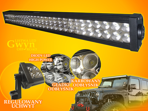 Banda LED Gwyn 180W CW Off Road 12V-24V