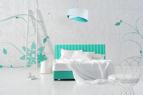 Lampă eleganță pentru un adolescent 60W E27 alb / culori