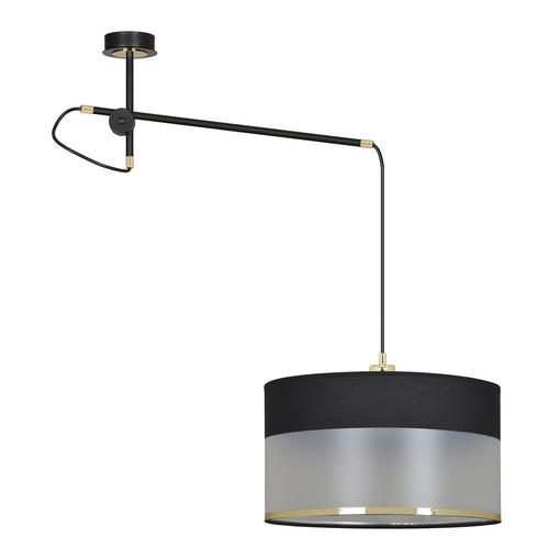 LAMPĂ CURGANTĂ MONOLIT 1 NEGRU