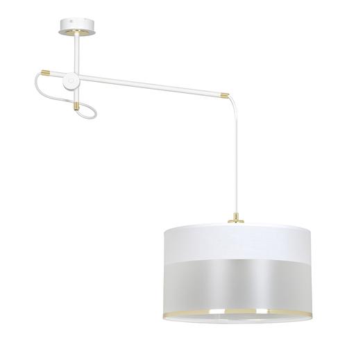 LAMPĂ CURGANTĂ MONOLIT 1 ALB