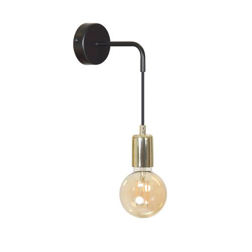 LAMPĂ DE PERETE VESIO K1 NEGRU