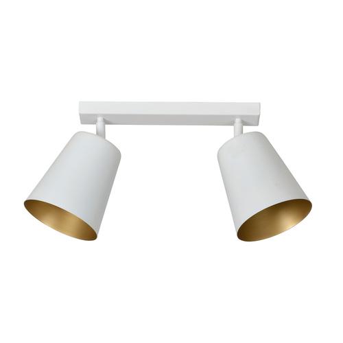 PRISM 2 plafon alb / auriu