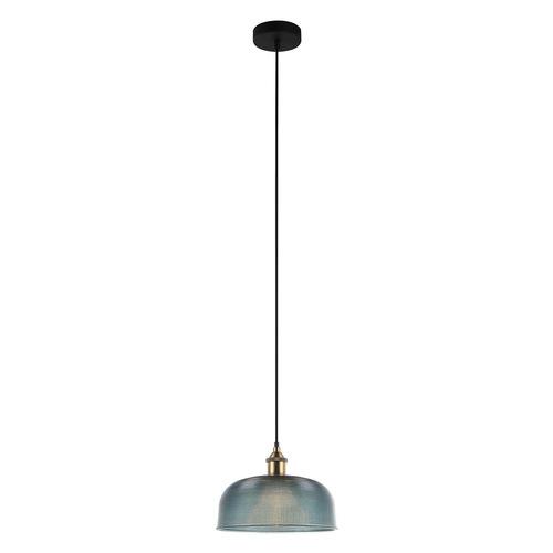 Lampă suspendată albastră Davide E27